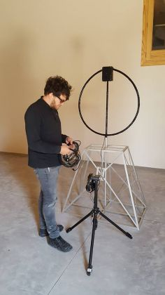 Anto Milotta installazione Antennae alla tenuta la favola
