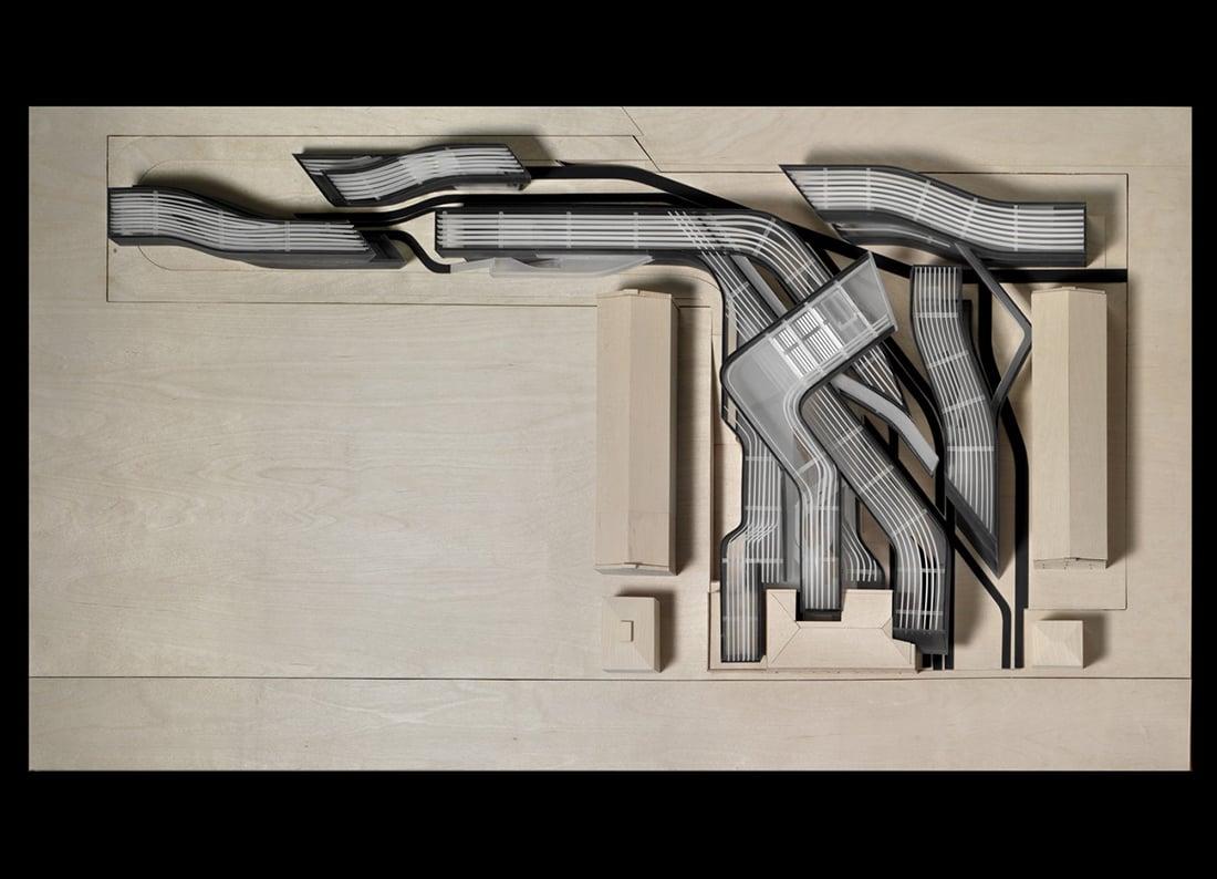 Archivio Zaha Hadid al Maxxi, Roma, 1998-2003