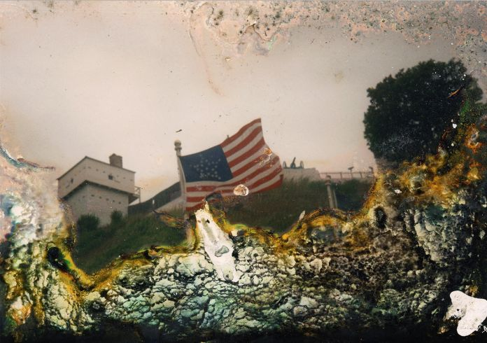 Arianna Arcara & Luca Santese, The Flag from the series Found Photos in Detroit