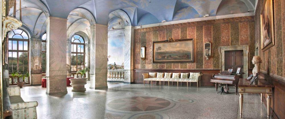 Ariccia, Palazzo Chigi. Sala da Pranzo d'Estate