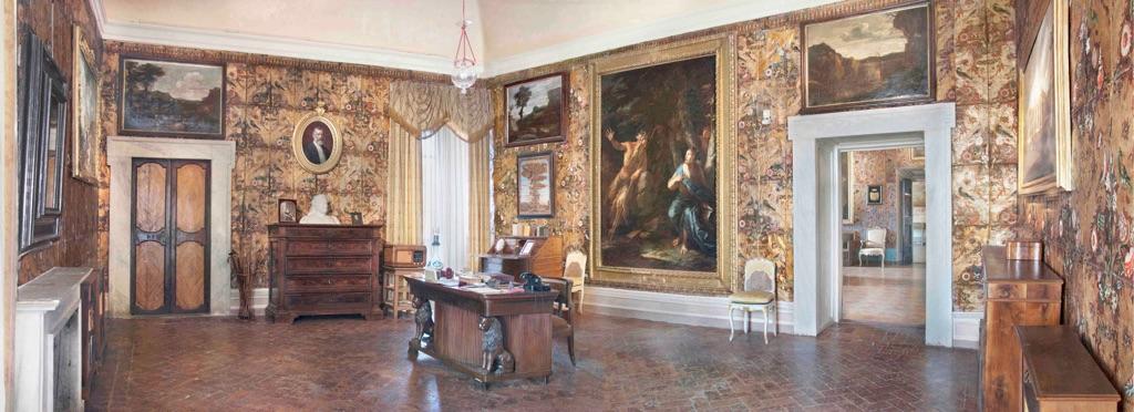 Ariccia, Palazzo Chigi. Studio del Principe Mario