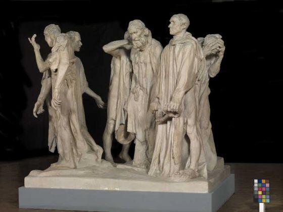 Auguste Rodin, I borghesi di Calais, Ca' Pesaro, Venezia, riallestimento opere