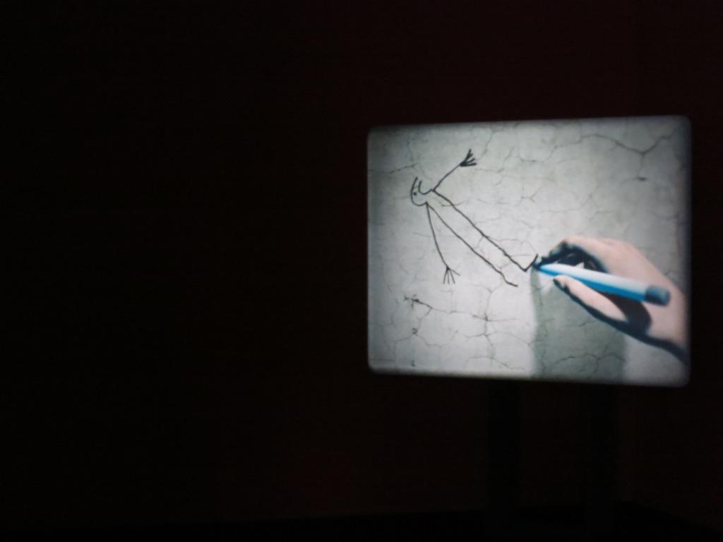 Ben Rivers. Phantoms. Installation view at La Triennale, Milano 2017