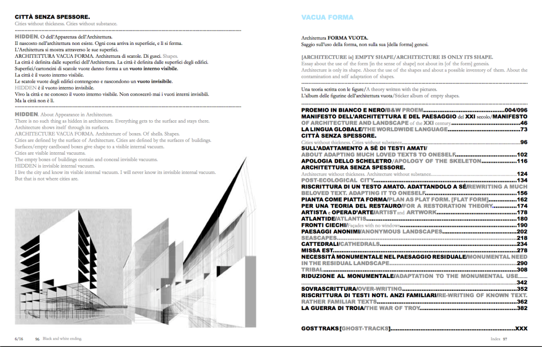 Beniamino Servino, Vacua Forma (Verbus Editrice 2017)