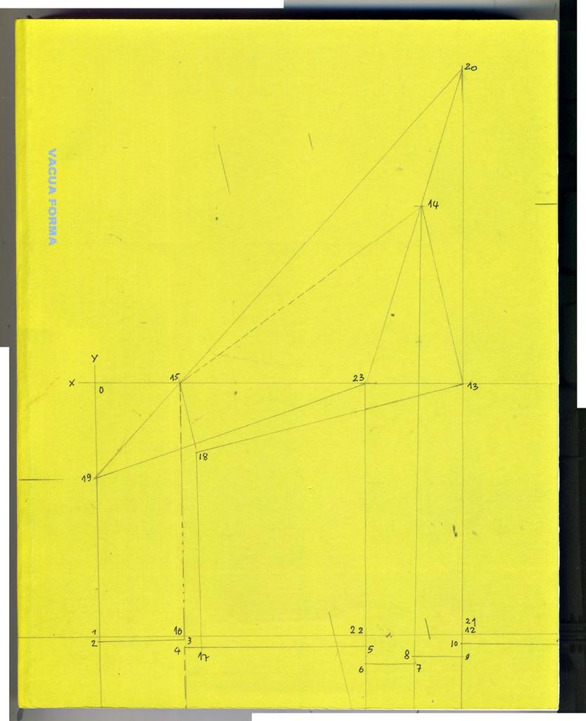 Beniamino Servino, Vacua Forma (Verbus Editrice 2017). Copertina