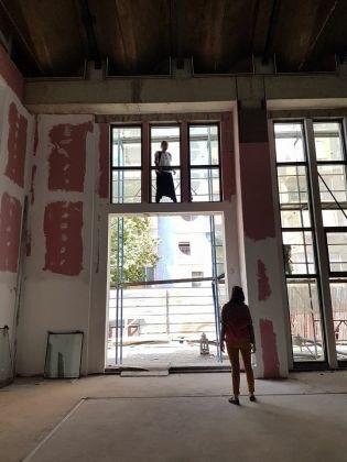 Biennale dei Giovani Artisti del Mediterraneo 2017, making of, Tirana