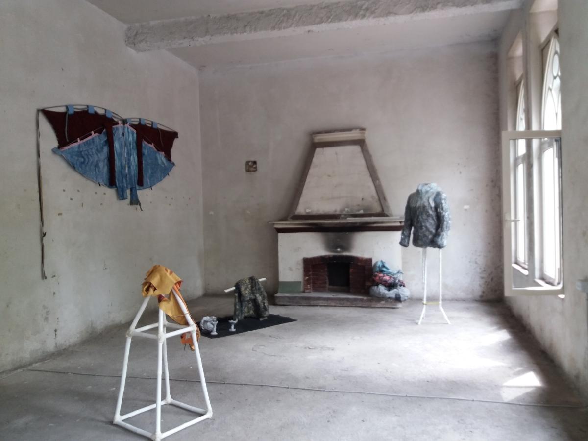 Biennale dei Giovani Artisti del Mediterraneo 2017, making of, ex ambasciata jugoslava, Tirana