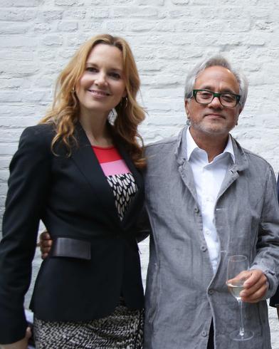 Anish Kapoor e Annette Hofmann, Lisson Gallery Milano, Ph. Daniele Venturelli