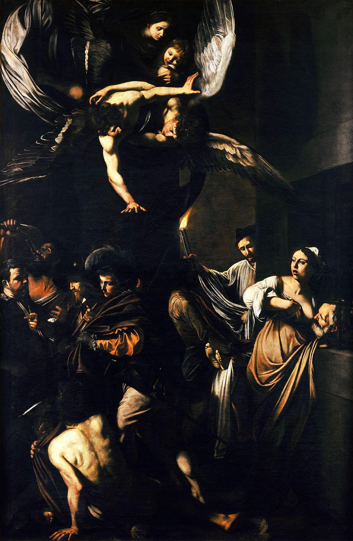 Caravaggio, Sette opere di Misericordia, 1606-07