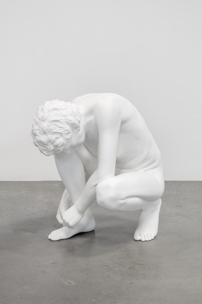 Charles Ray, Shoe Tie, 2012