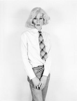 Christopher Makos, Altered Image-Portrait of Andy Warhol, New York City, 1981-82 © Christopher Makos. Courtesy Photology