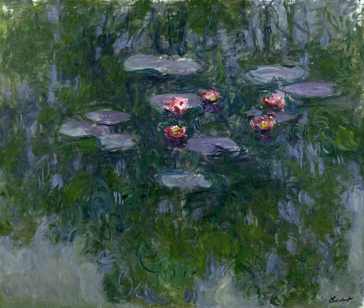 Claude Monet, Nymphéas, 1916-1919