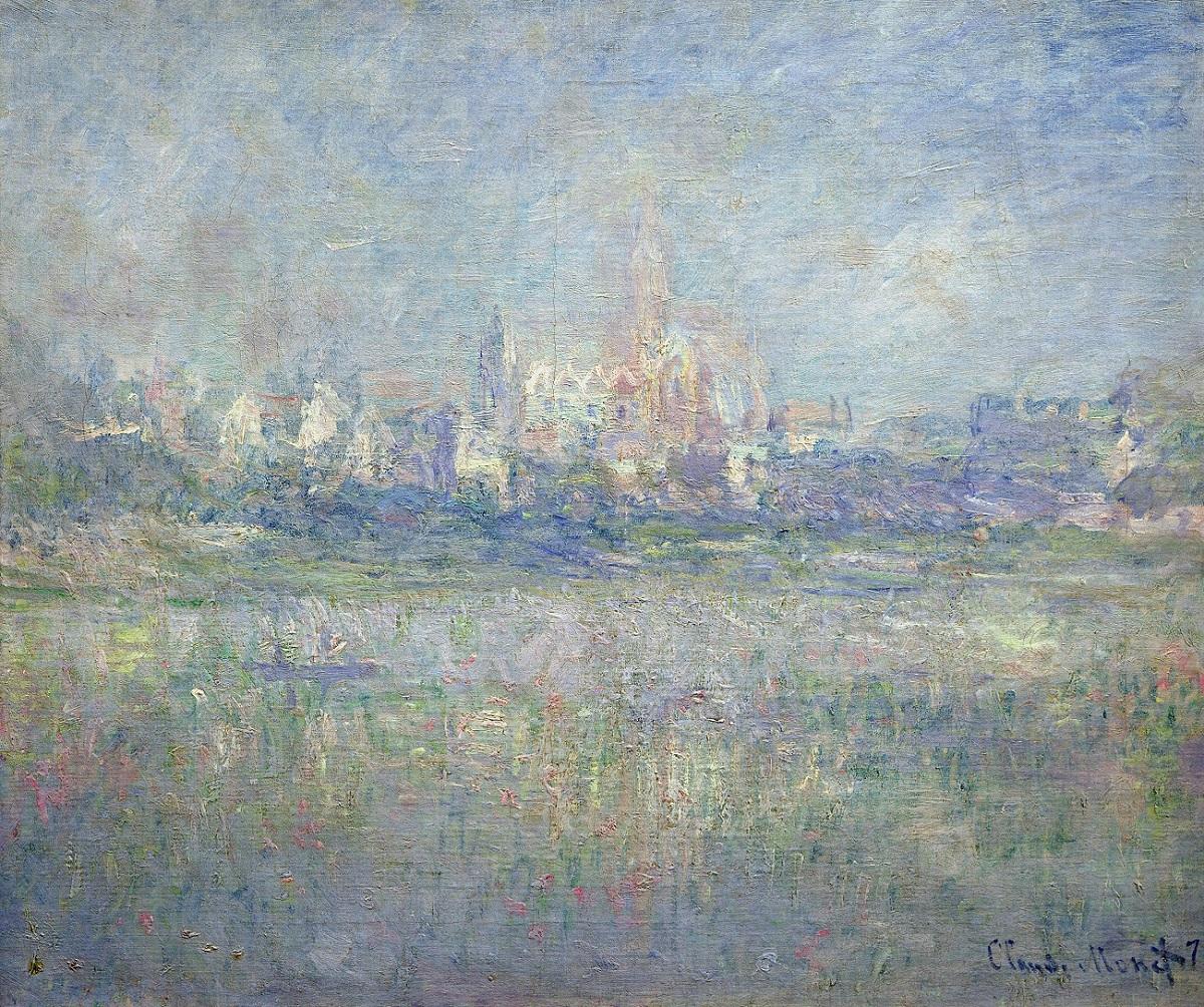 Claude Monet, Vétheuil dans le brouillard, 1879