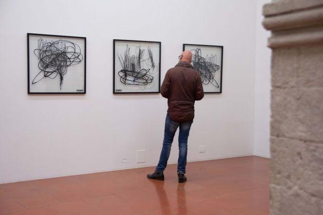 CrossRoad#3. Eltono & StenLex. Exhibition view at Doppelgaenger, Bari 2017. Photo N. Cipriani