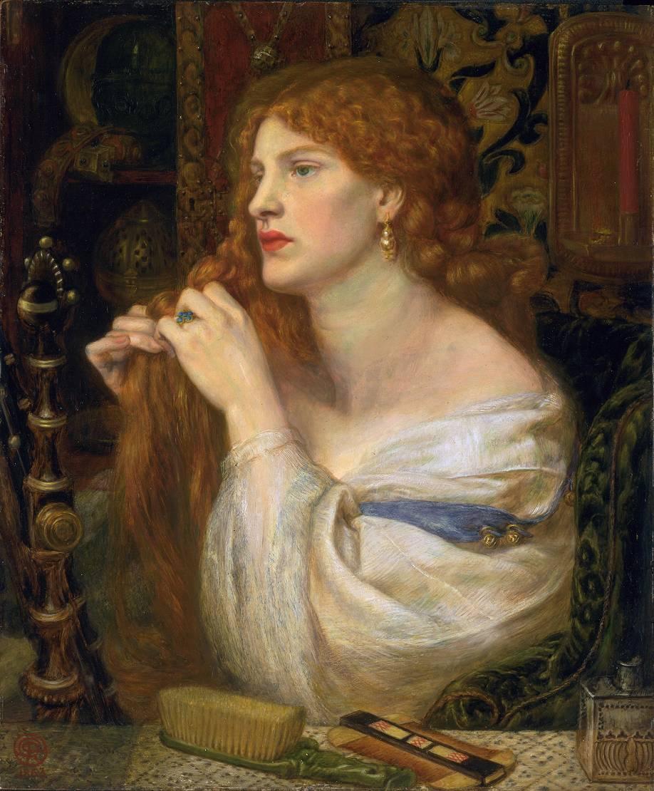 Dante Gabriel Rossetti, Aurelia (Fazio's Mistress), 1863-1873