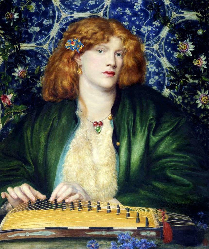 Dante Gabriel Rossetti, The Blue Bower, 1865