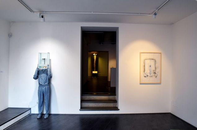 Donato Piccolo, Aritmosferica, 2017, exhibition view, GABA-MC, Macerata