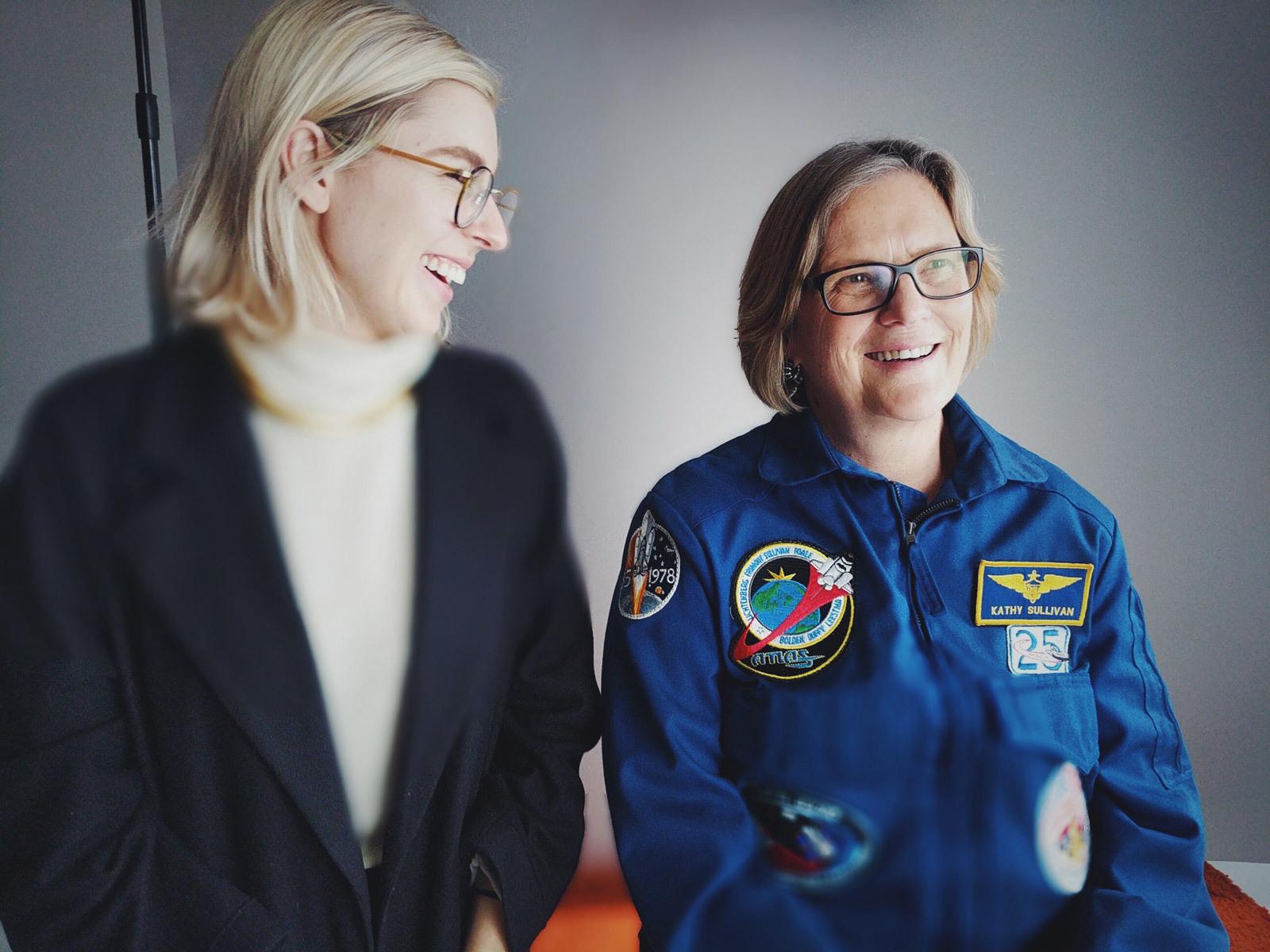 Eliza McNitt e Kathy Sullivan