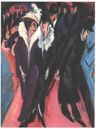 Ernst Ludwig Kirchner, Die Straße, 1913. Museum of Modern Art, New York