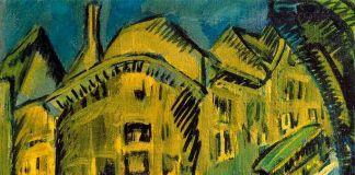Ernst Ludwig Kirchner, Nollendorfplatz, 1912. Stiftung Stadtmuseum, Berlino