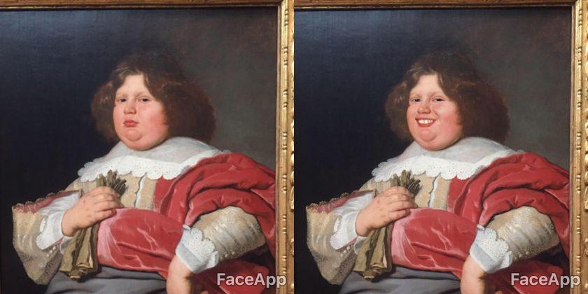 FaceApp cambia volto ai dipinti del Rijksmuseum