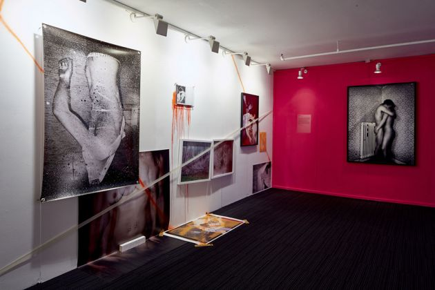 Feminine Masculine exhibition, London Art Fair. Installation view featuring Maya Rochat and JH Engstrom. Courtesy Marita Pappa