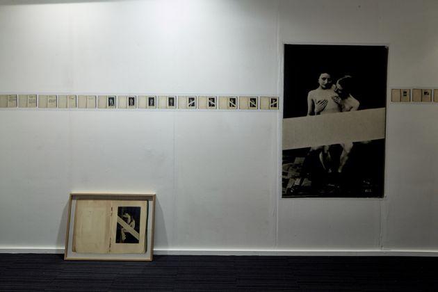 Feminine Masculine. London Art Fair. Installation view featuring Martin Crawl Puritan Porn. Courtesy Marita Pappa
