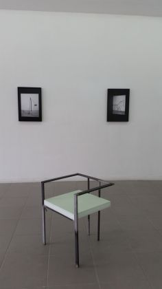 Florian Neufeldt. Stray current. Exhibition view at The Gallery Apart, Roma 2017