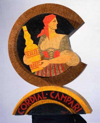 Fortunato Depero, Cordial Campari, 1939, Rovereto, Mart, Fondo Depero