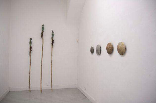 Francesca Gagliardi. Installation view at Galleria Opere Scelte, Torino 2017