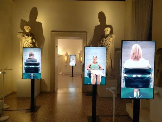 Francesca Montinaro, 11.146.312 metri. Installation view at Museo Archeologico Nazionale, Venezia 2017