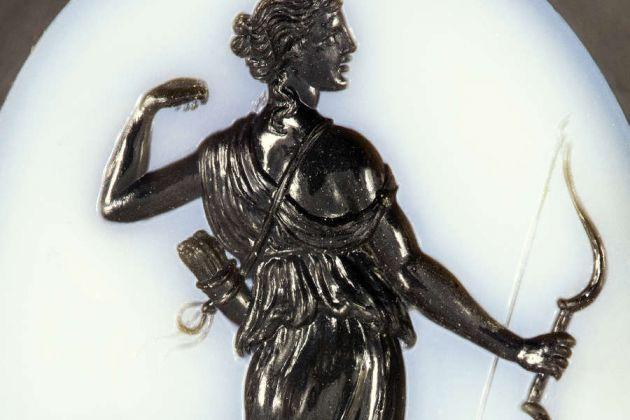Gemma con decorazione a intaglio, Museo degli Argenti, Palazzo Pitti, Firenze