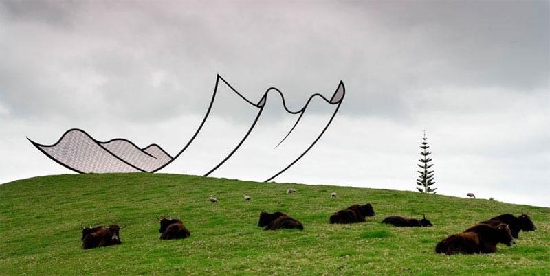 Gibbs Farm, Sculpture Park, New Zeland. Neil Dawson © Gibbs Farm 2013