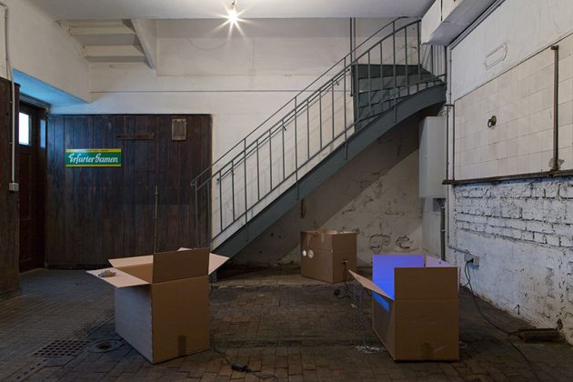 Gina Folly. I want you to live in my city. Exhibition view at Ermes-Ermes, Vienna 2017