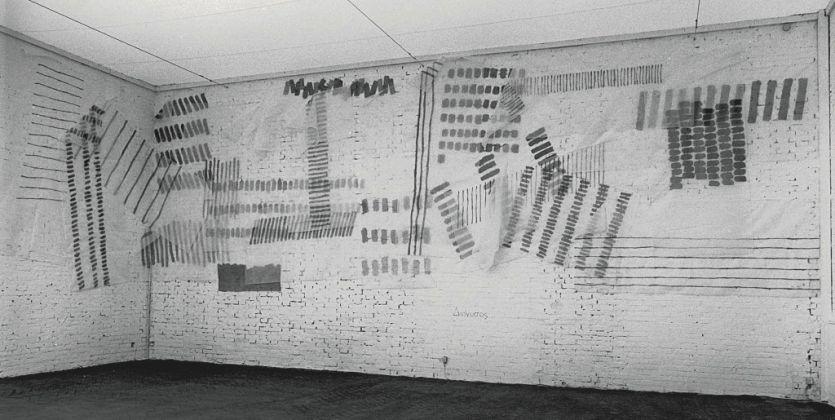 Giorgio Griffa, Dionisio, Biennale di Venezia, 1980