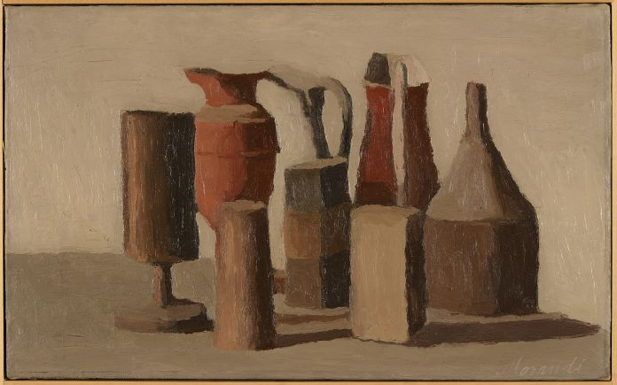 Giorgio Morandi, Natura morta, 1943, Ca' Pesaro, Venezia, Collezione Carraro