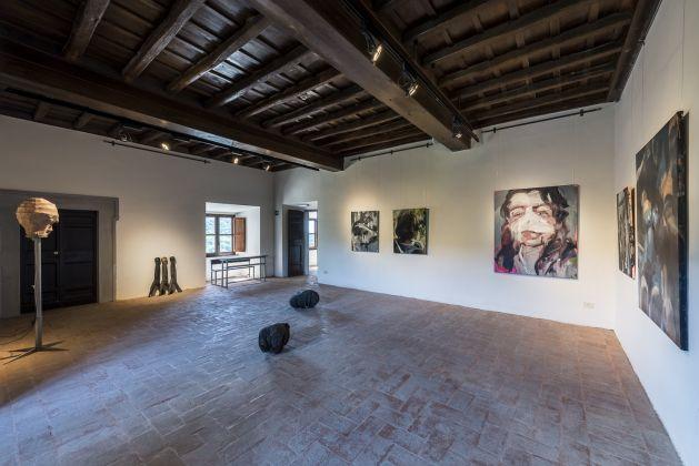 Granpalazzo 2017, Installation View Jean-Marie Perdrix/Samy Abraham e Workplace/Laura Lancaster ph. Sebastiano Luciano photography