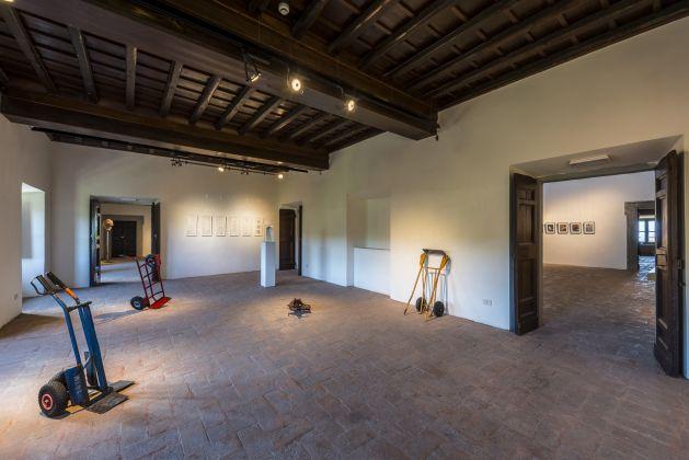Granpalazzo 2017, Installation View Daniel Marzona/Sofia Hulten e Tiziana Di Caro/Tomaso Binga ph Sebastiano Luciano photography