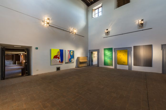 Granpalazzo 2017, Installation View Mezzanino
