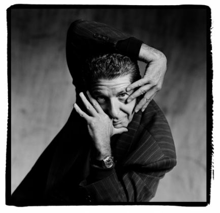 Guido Harari, Leonard Cohen, Milano, 1989