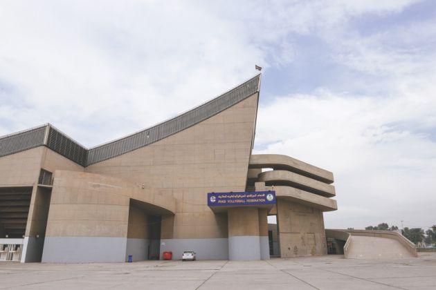 Gymnasium in Bagdad, Irak, designed by Le Corbusier, realized posthumously, 1978-80 © Ayman Al Amiri