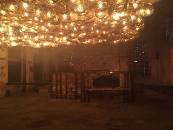 Loris Gréaud, The Unplayed Notes Factory, Murano 2017