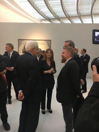 Il Presidente Mattarella in visita al nuovo Maxxi