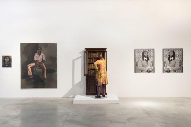 Il cacciatore bianco. Rashid Johnson, Yinka Shonibare, Lynette Yiadom-Boakye. FM-Frigoriferi Milanesi, Milano 2017. Photo Daniele Pio Marzorati