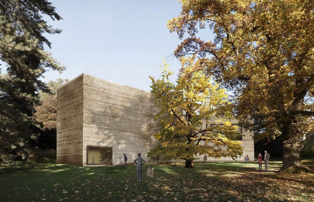 Il progetto di Peter Zumthor per la Fondation Beyeler - Courtesy Atelier Peter Zumthor & Partner
