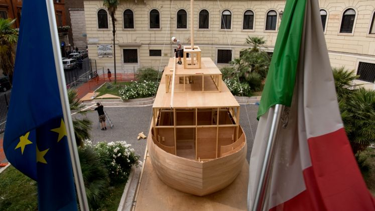 Ilya e Emilia Kabakov, The Ship of Tolerance - Accademia di Belle Arti, Roma, 2017