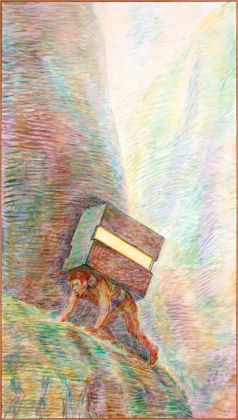 Ilya ed Emilia Kabakov, The Arch of Life #3 (He is Carrying Box With Light), 2013
