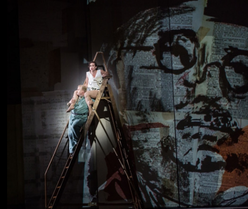 Lulu regia di William Kentridge Teatro dell'Opera di Roma (c) Yasuko Kageyama-Opera Roma 2016-17