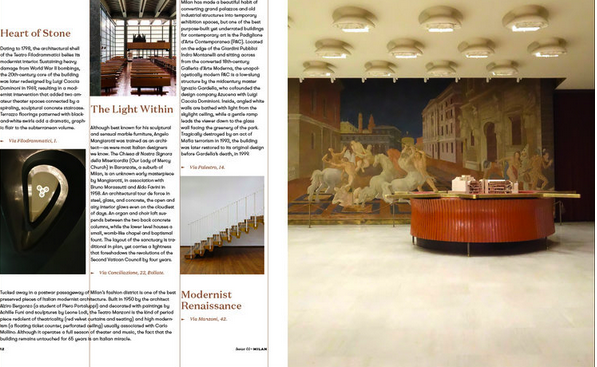 August Issue 01: Milano