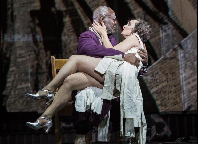 Lulu regia di William Kentridge Teatro dell'Opera di Roma (c) Yasuko Kageyama-Opera Roma 2016-17